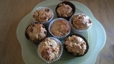 How to bake a muffin. Chocolate Orange Muffins  - Step 8