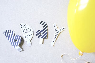 How to make a party balloon. Msg Balloon Decoration - Step 3
