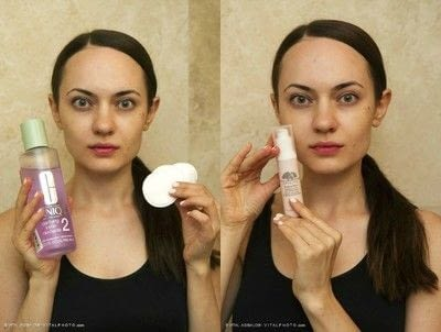 How to create foundation makeup. Natural Makeup For Major Breakouts - Step 2