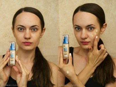 How to create foundation makeup. Natural Makeup For Major Breakouts - Step 3
