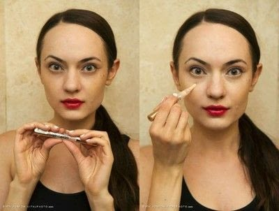 How to create foundation makeup. Natural Makeup For Major Breakouts - Step 7