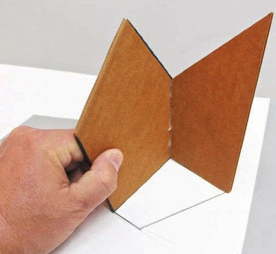 How to make a piece of paper art. Polygon Sculpture - Step 4