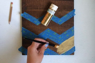 How to decorate a clipboard. Diy Wooden Clipboards - Step 7