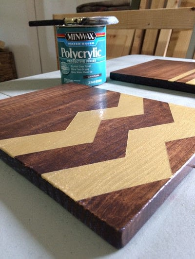 How to decorate a clipboard. Diy Wooden Clipboards - Step 8