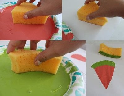 How to make a quilted blanket. Watermelon Picnic Blanket - Step 6