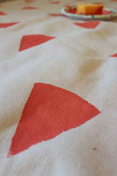 How to make a quilted blanket. Watermelon Picnic Blanket - Step 7