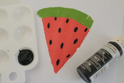 How to make a quilted blanket. Watermelon Picnic Blanket - Step 9