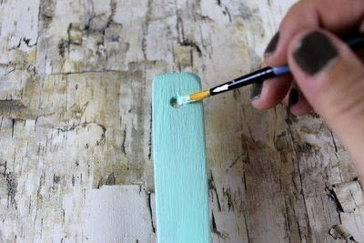 How to make a kitchen utensil. Painted Kitchen Utensils  - Step 6