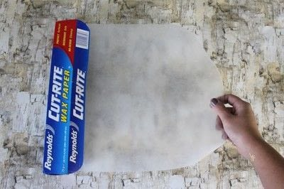 How to make a letter. Diy Color Block Letter - Step 2