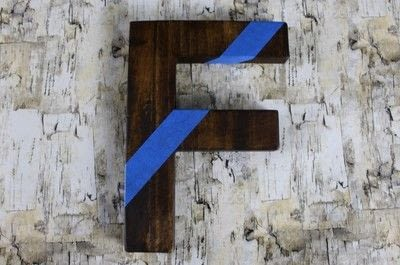 How to make a letter. Diy Color Block Letter - Step 6