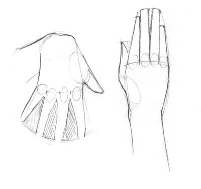 How to make a drawing. Hand Drawing - Step 3