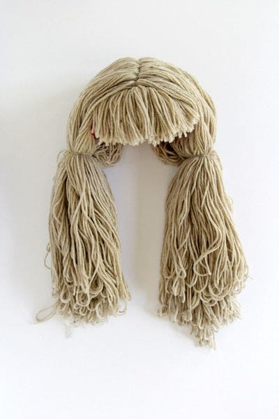 How to make a wig. Diy Scarecrow Costume - Step 3