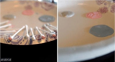 How to make a glass. Diy Polka Dot Champagne Flutes   Perfect For Parties! - Step 3