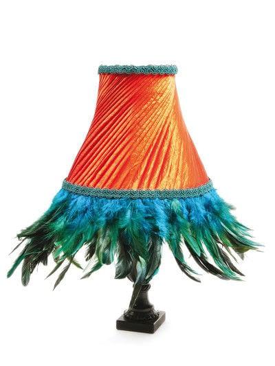 How to make a lamp / lampshade. Flaming Juno - Step 35