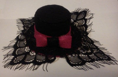How to make a top hat. Halloween Cute Mini Top Hat - Step 6