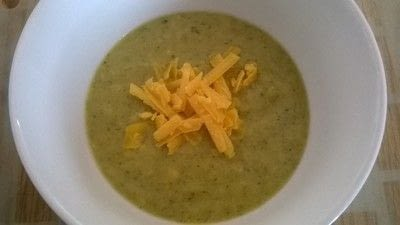 How to cook a broccoli soup. Cheese & Broccoli Soup - Step 6