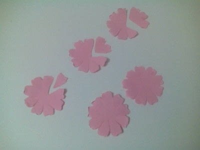 How to make a bouquet. Paper Roses - Step 5
