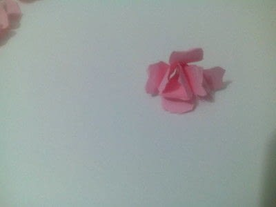 How to make a bouquet. Paper Roses - Step 8