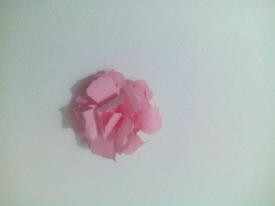 How to make a bouquet. Paper Roses - Step 11