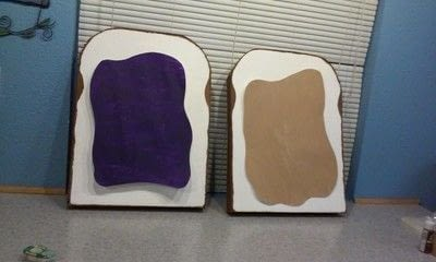 How to make a costume. Peanut Butter & Jelly Costume - Step 6