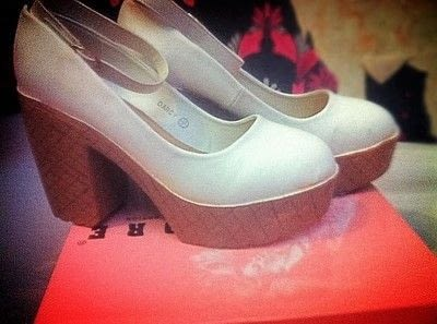 How to revamp a pair of revamped shoes. Ice Cream Shoes - Step 3