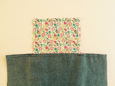 How to sew a pocket tote . The Ultimate Shopping Bag - Step 5