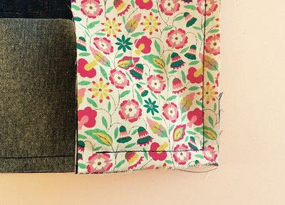 How to sew a pocket tote . The Ultimate Shopping Bag - Step 9