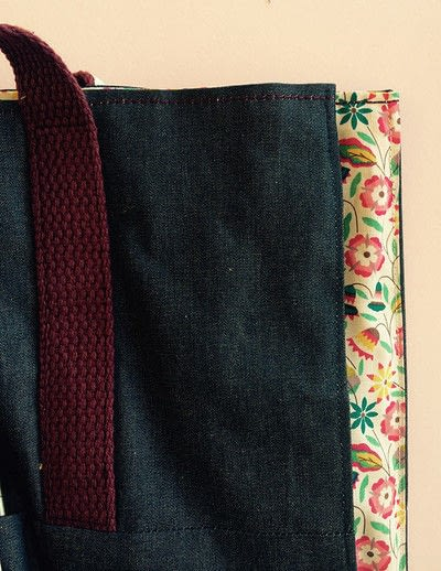 How to sew a pocket tote . The Ultimate Shopping Bag - Step 15