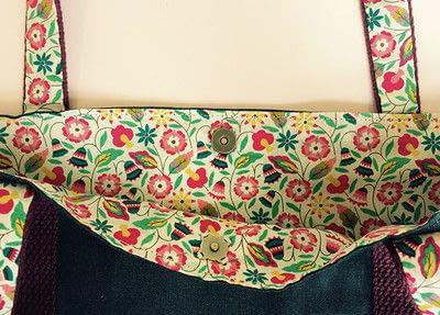 How to sew a pocket tote . The Ultimate Shopping Bag - Step 16