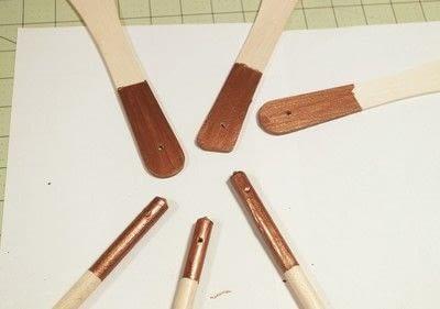 How to make a kitchen utensil. Wood Burned Utensils - Step 5