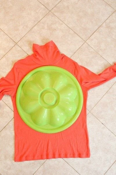 How to make a pumpkin plushie. Diy Pumpkin Home Decor Out Of Old T Shirts - Step 1