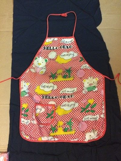 How to make a full apron. Adjustable Heart Themed Apron Using KAMsnaps - Step 1
