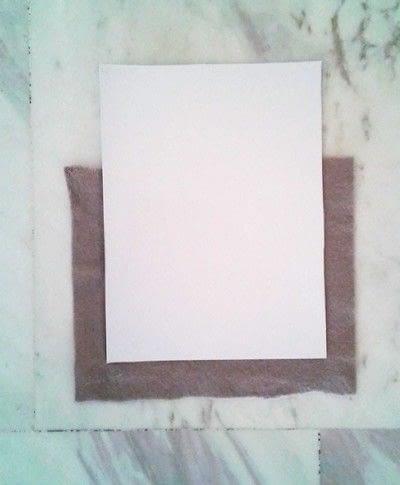 How to make wall decor. Frame Organizer - Step 1
