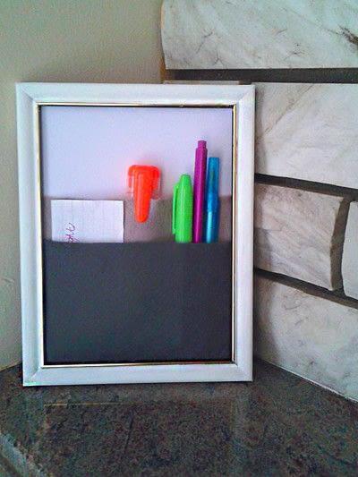 How to make wall decor. Frame Organizer - Step 4