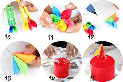 How to make a bouquet. Resin Flowers - Step 4