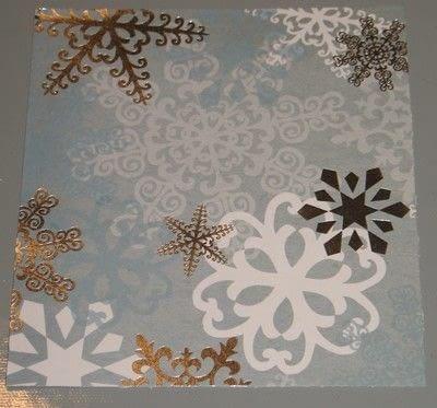 How to make a stamped card. Framed Stamped Images - Step 2