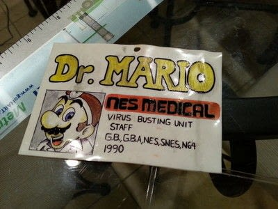 How to make a costume. Dr. Mario Medical Badge - Step 3
