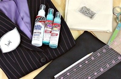 How to make a jacket / coat. Thrift Store Blazer Makeover - Step 2