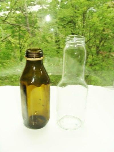 How to decorate a bottle vase. Pop Art Vases - Step 1