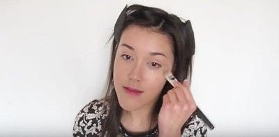 How to create a smokey eye. Autumn Makeup   Natural Smokey Eye And Red Lip - Step 4