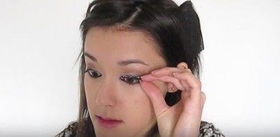How to create a smokey eye. Autumn Makeup   Natural Smokey Eye And Red Lip - Step 19