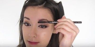 How to create a smokey eye. Autumn Makeup   Natural Smokey Eye And Red Lip - Step 23