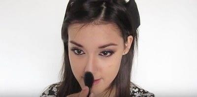 How to create a smokey eye. Autumn Makeup   Natural Smokey Eye And Red Lip - Step 26