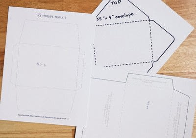 How to make an envelope. Make Your Own Envelopes  - Step 1