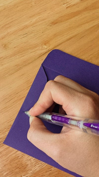 How to make an envelope. Make Your Own Envelopes  - Step 6