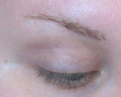 How to makeover an eyebrow. Current Brow Routine - Step 1