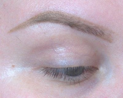 How to makeover an eyebrow. Current Brow Routine - Step 3