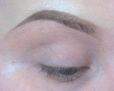 How to makeover an eyebrow. Current Brow Routine - Step 5