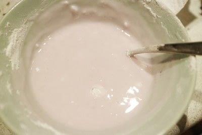 How to bake a bundt cake. Chocolate & Lavender Bundt Cake - Step 6