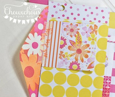 How to decorate an altered journal. Washi Tape Bound Journal - Step 3